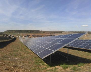 Centrale photovoltaïque au sol