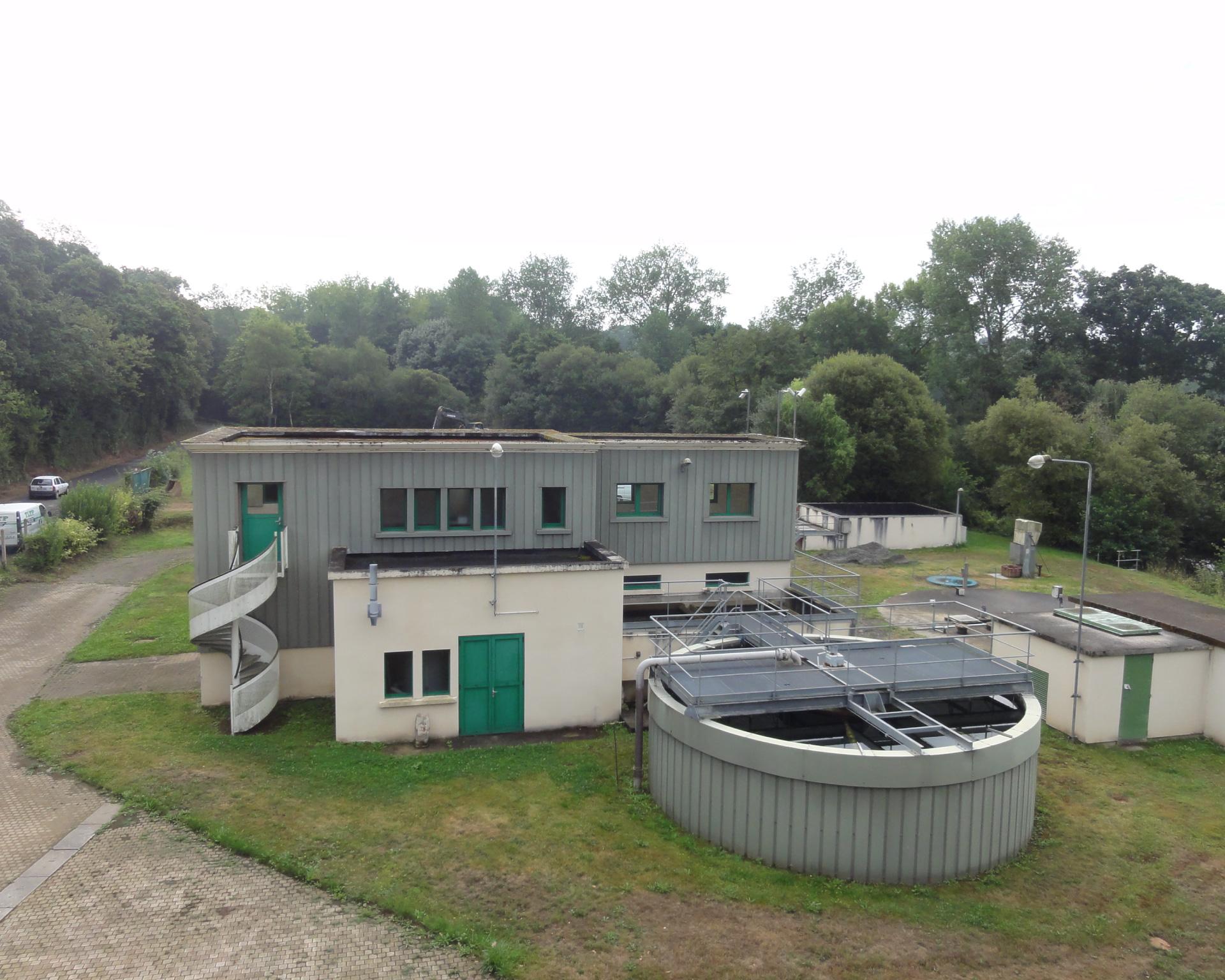 Station production eau potable