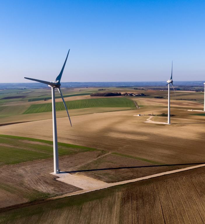 Suivi d'exploitation centrales éoliennes