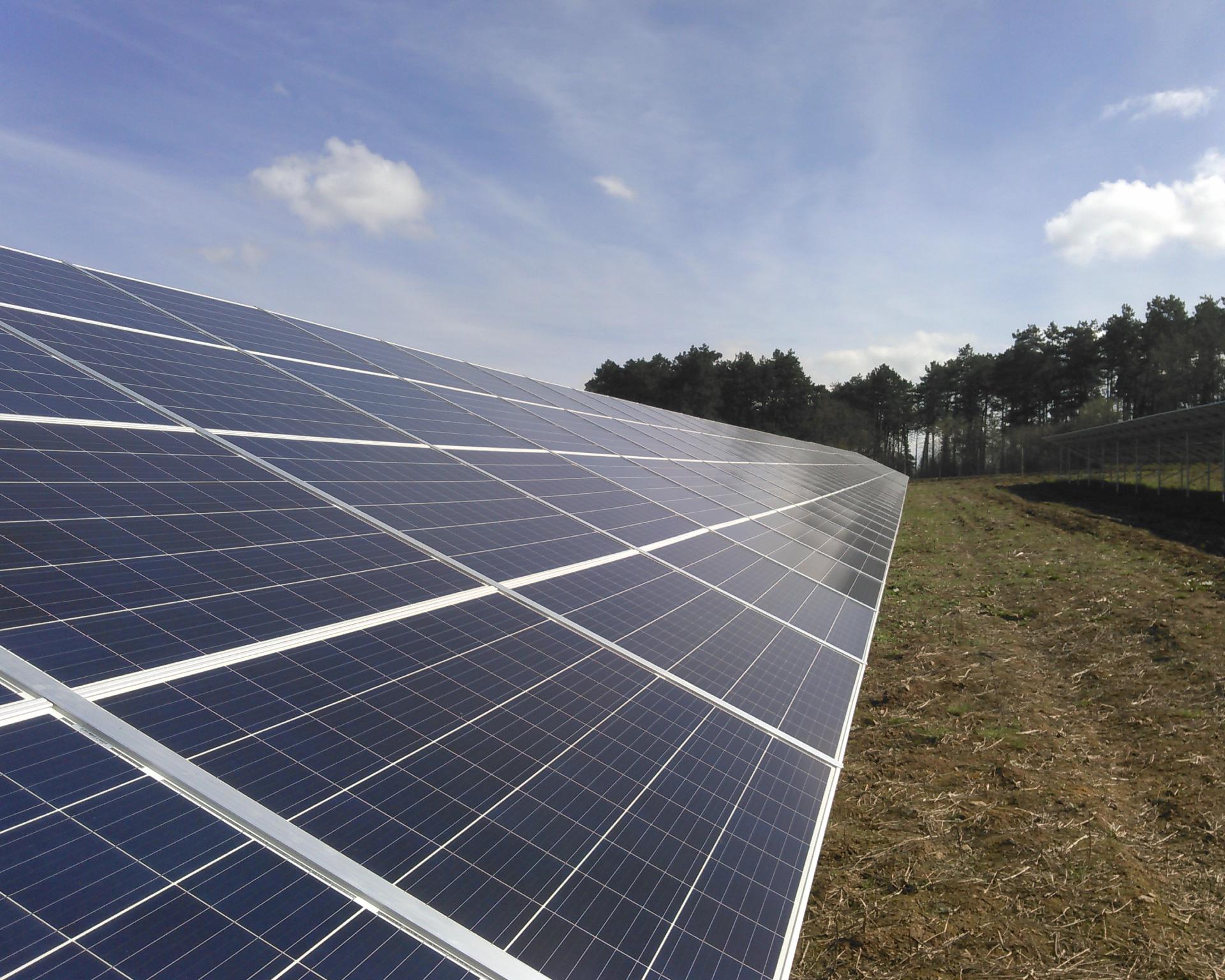 Centrale photovoltaïque SEM