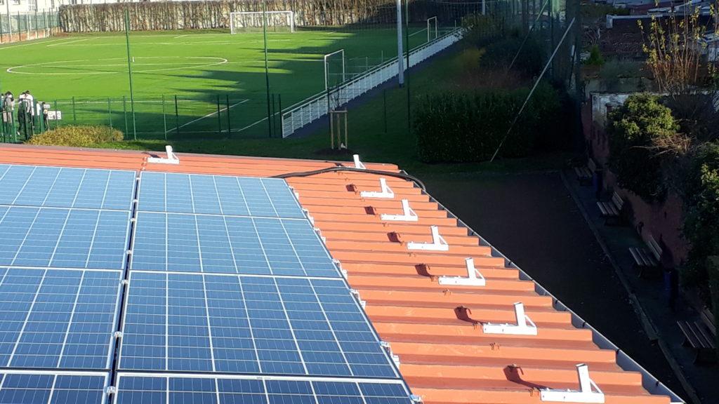 Panneaux solaires à La Madeleine