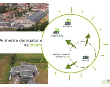 Autoconsommation collective à la commnauté de commune du Haut Pays de Montreuillois